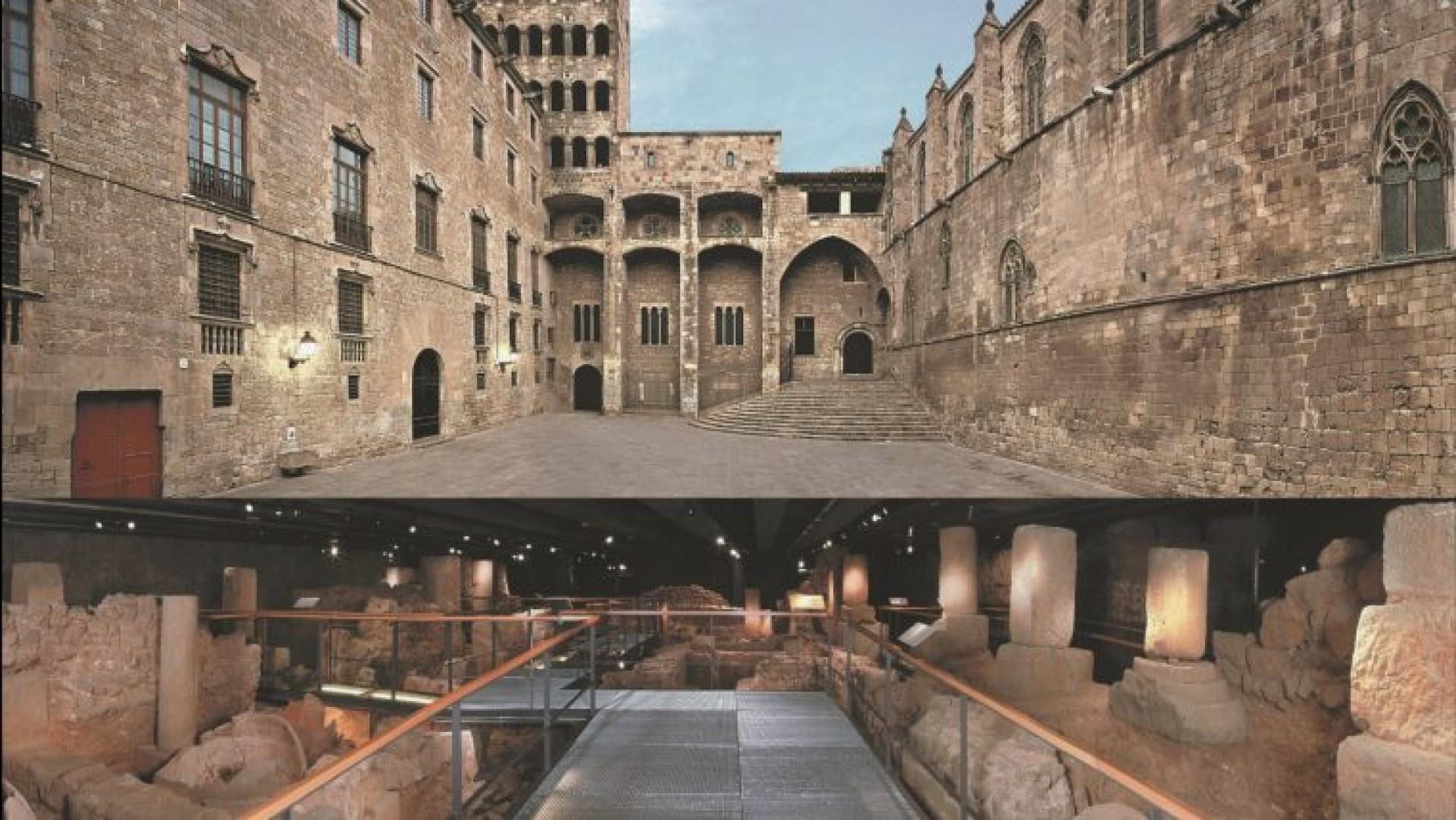 Museu d'història de Barcelona ( MUHBA )